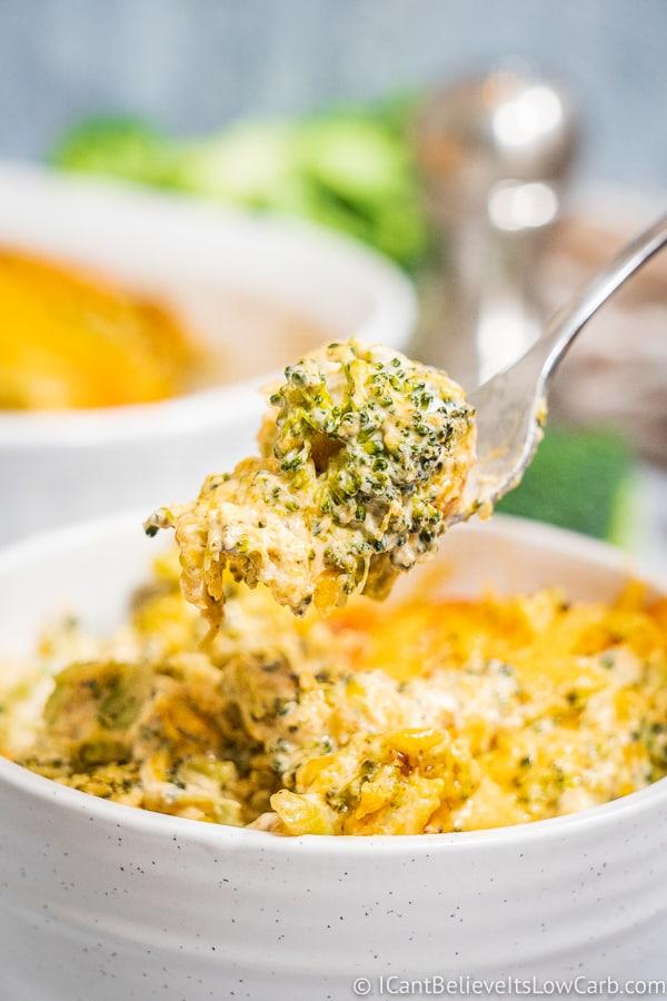 Best Keto Broccoli Casserole