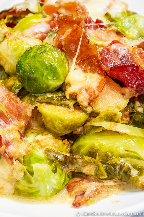 Best Creamy Keto Brussel Sprouts