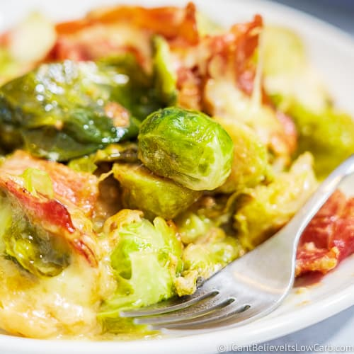 Low Carb Keto Brussel Sprouts