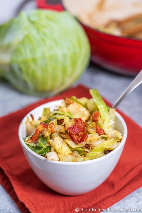 Keto Fried Cabbage Recipe