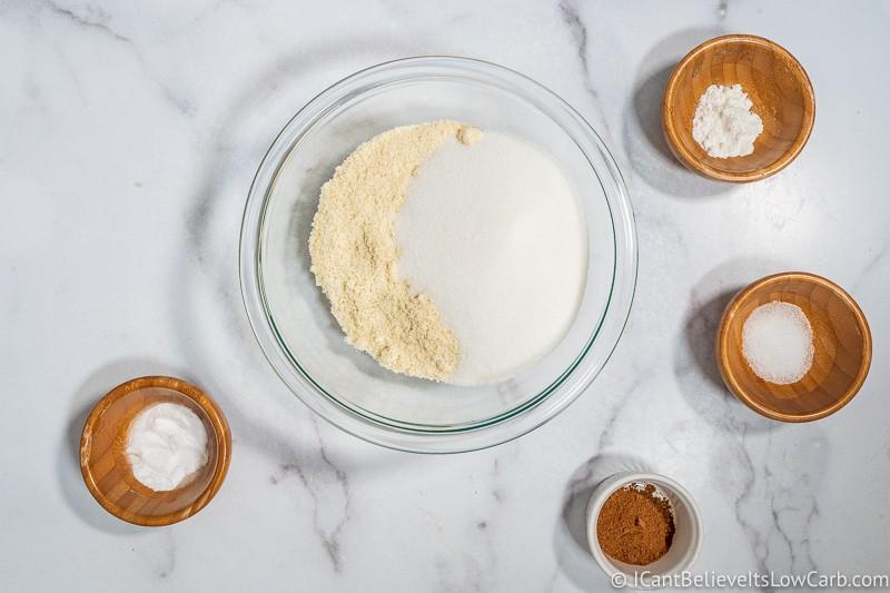 adding swerve to almond flour