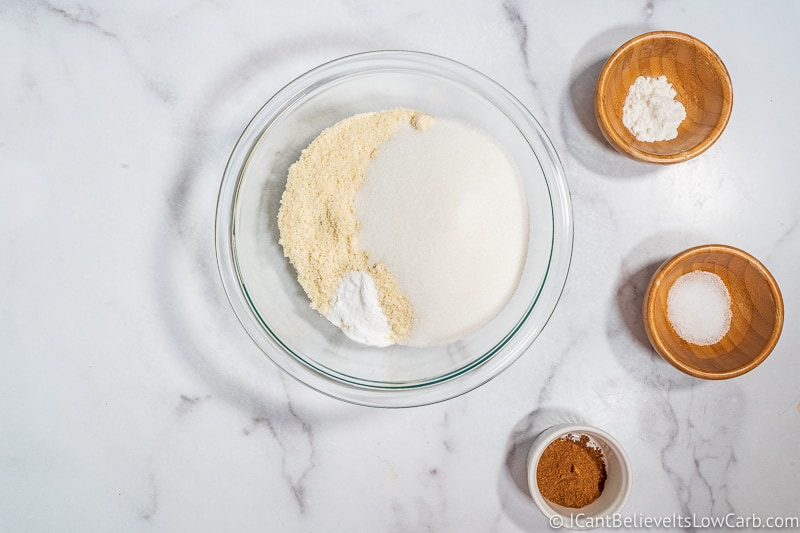 adding baking soda to mixture