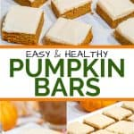Easy Keto Pumpkin Bars Pinterest