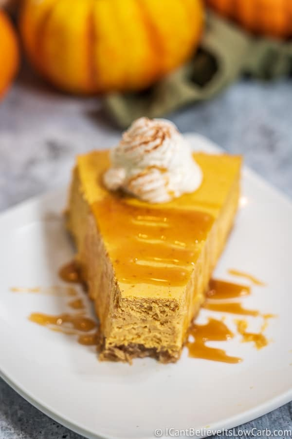 Best Low Carb Pumpkin Cheesecake