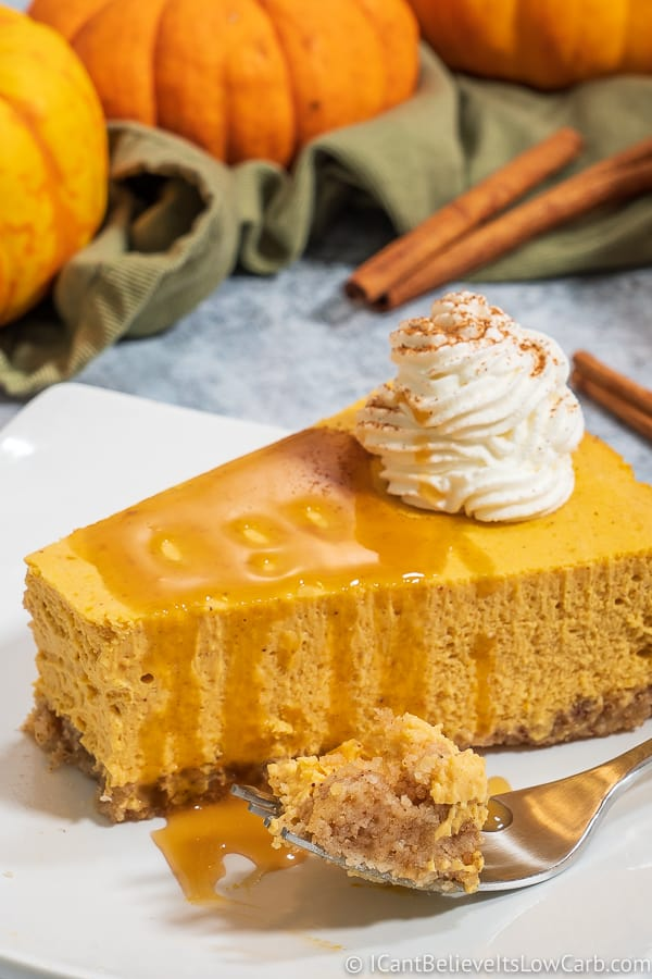 Best Keto Pumpkin Cheesecake