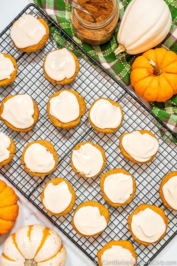 Keto Pumpkin Spice Cookies
