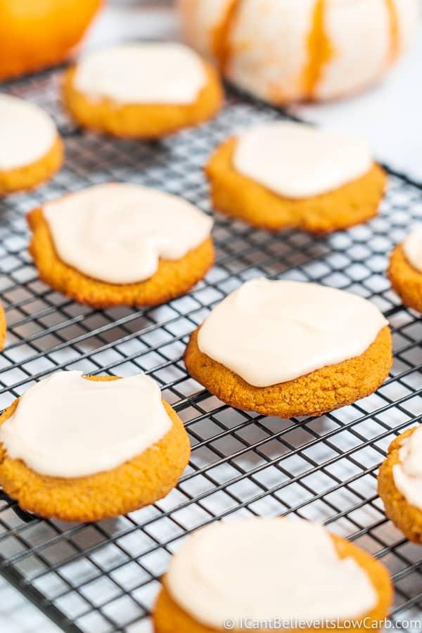 Easy Low Carb Pumpkin Cookies