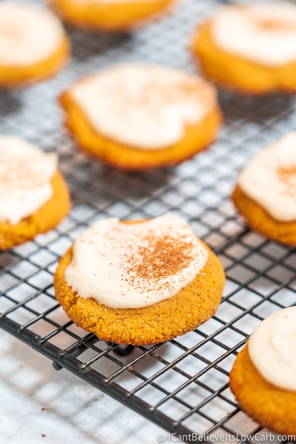 Low Carb Keto Pumpkin Cookies