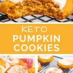 Keto Pumpkin Cookies Recipe Pinterest