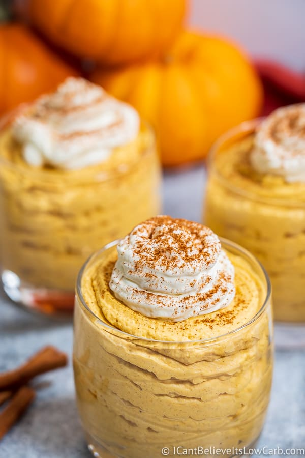 Keto Pumpkin Mousse Recipe