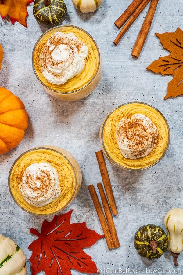 Best Low Carb Pumpkin Mousse