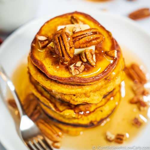 Keto Pumpkin Pancakes recipe