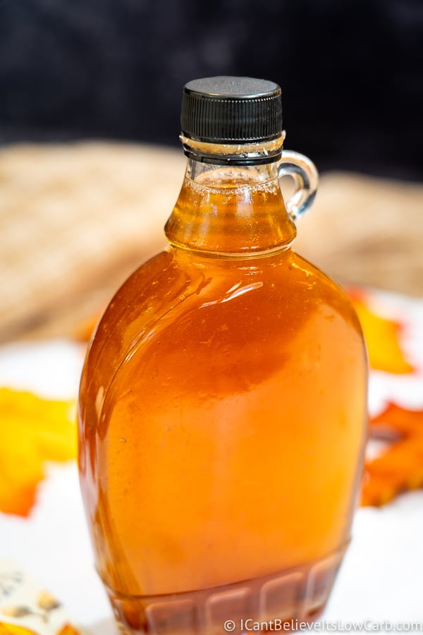 One bottle of Keto Maple Syrup