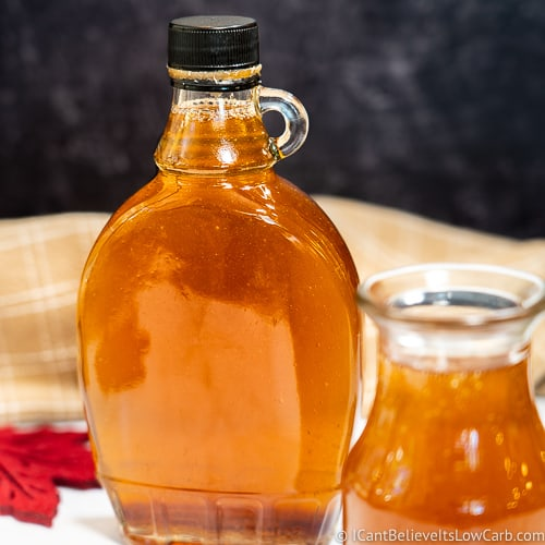 Sugar-Free Maple Syrup feature