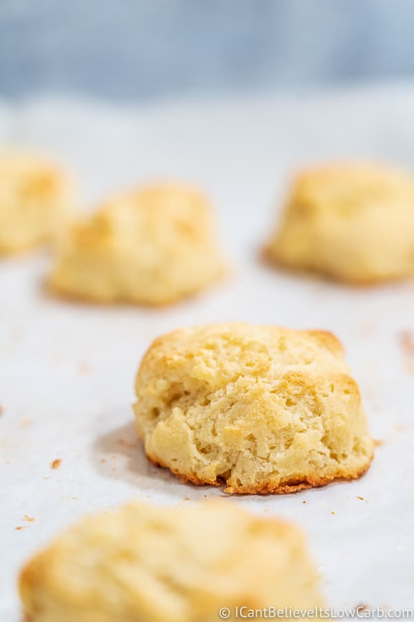 Low Carb Biscuits with Almond Flour