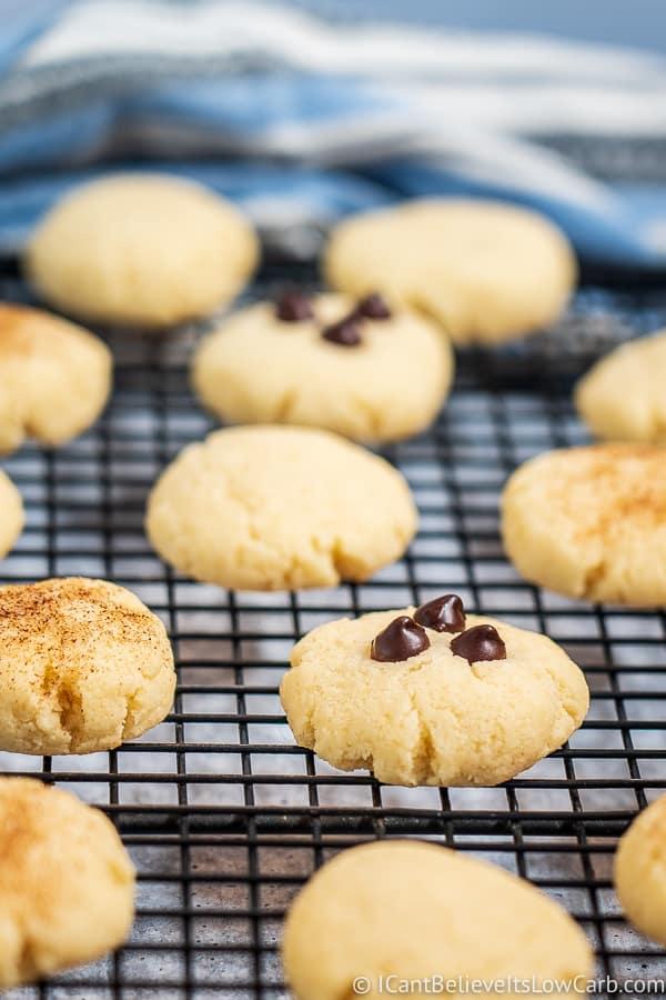 Keto Cream Cheese Cookies with almond flour