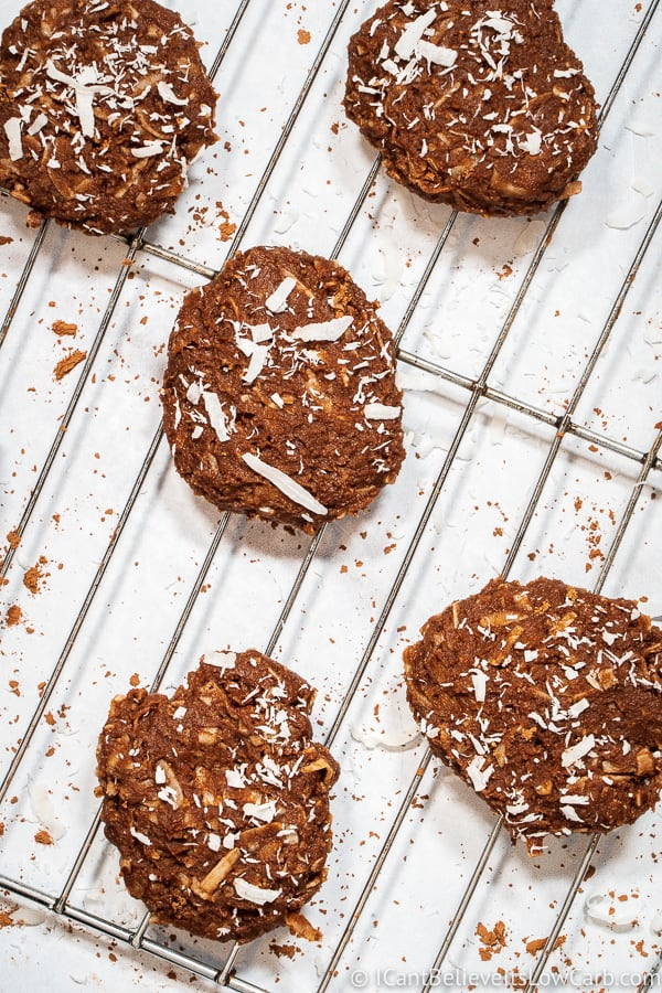 Keto No Bake Cookies Recipe