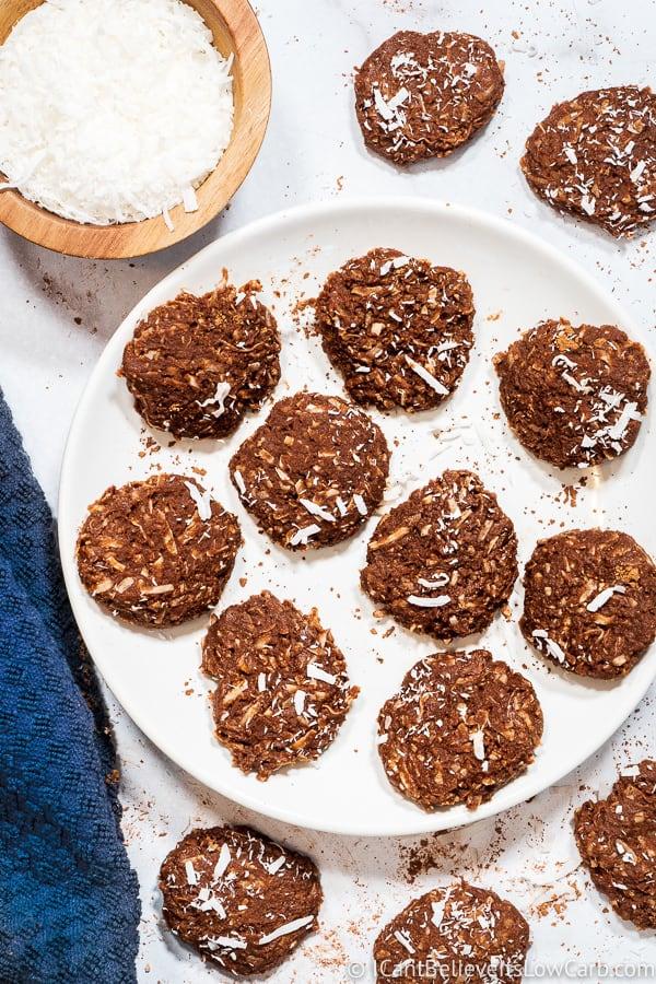 No Bake Keto Cookies recipe