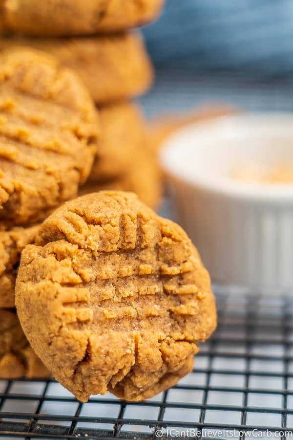 Sugar-Free Peanut Butter Cookies Recipe