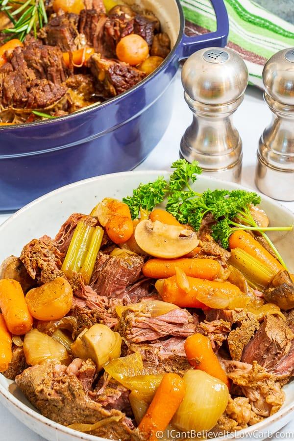 Bowl of Keto Pot Roast