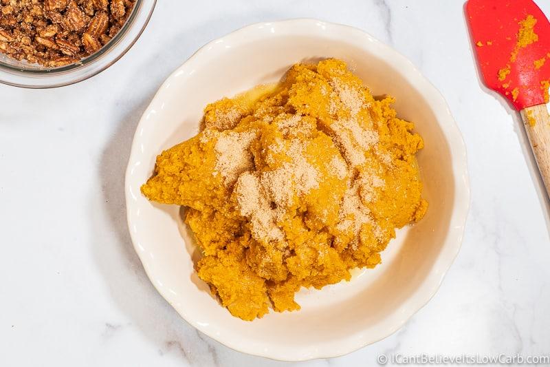 adding golden monk fruit sweetener