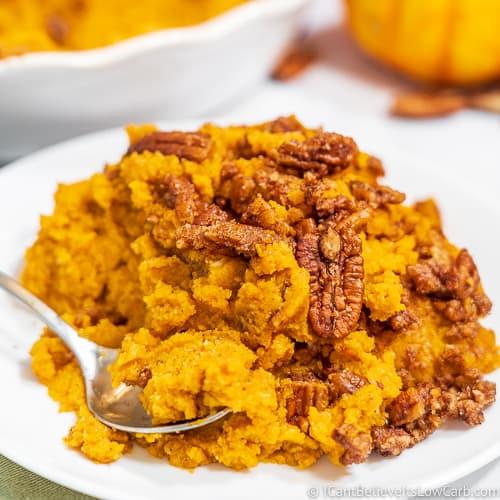 Keto Sweet Potato Casserole Recipe