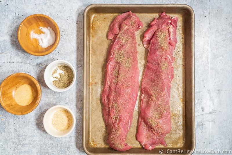 How to season Pork Tenderloin