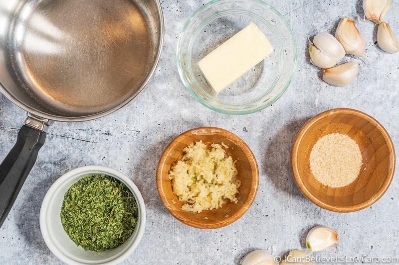 garlic butter sauce for Pork Tenderloin
