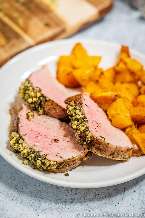 Best Pork Tenderloin Recipe sliced