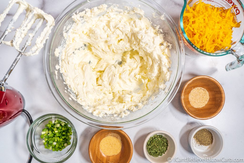 Ingredients for Cheese Ball