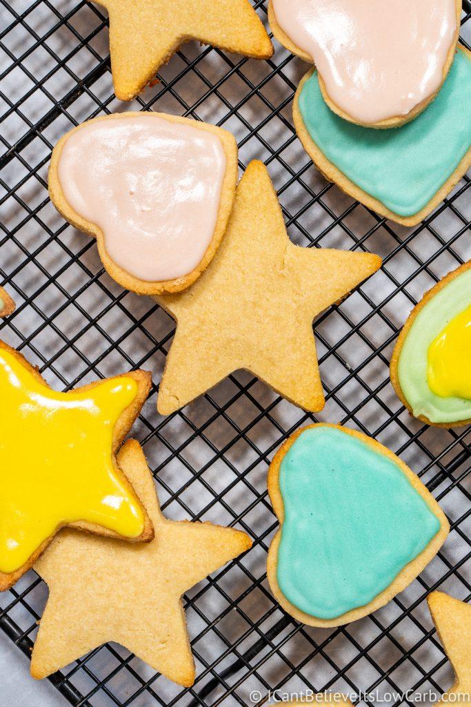 Easy Low Carb Sugar Cookies