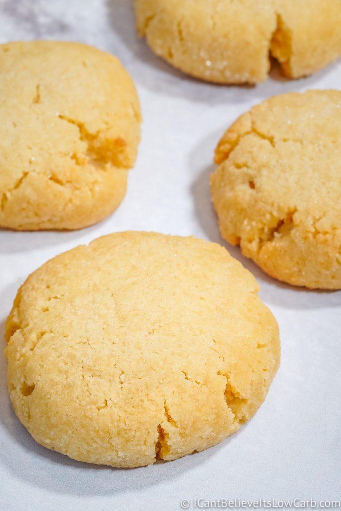 Keto Drop Sugar Cookies