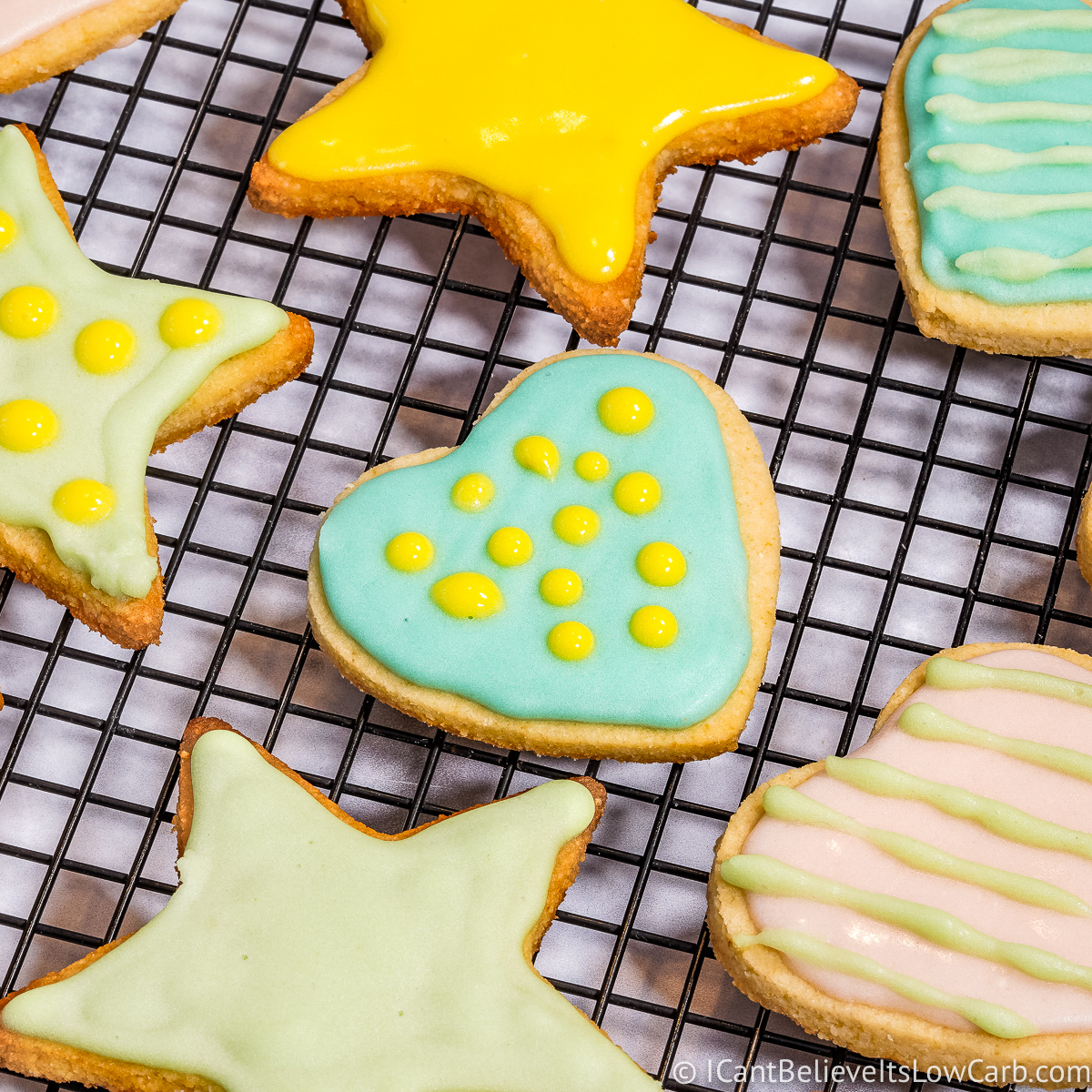 Low Carb Sugar Cookies feature