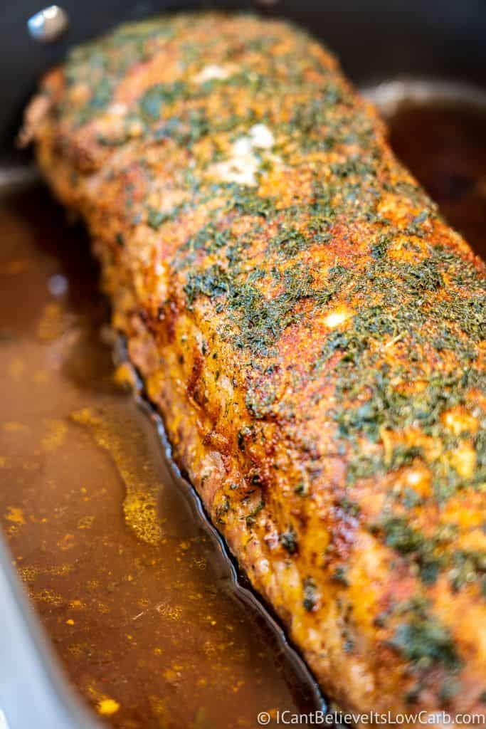 How to roast Pork Loin in the oven