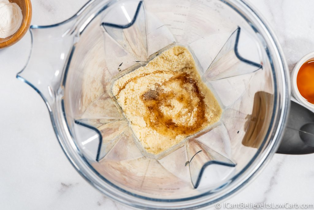 adding sugar-free maple syrup