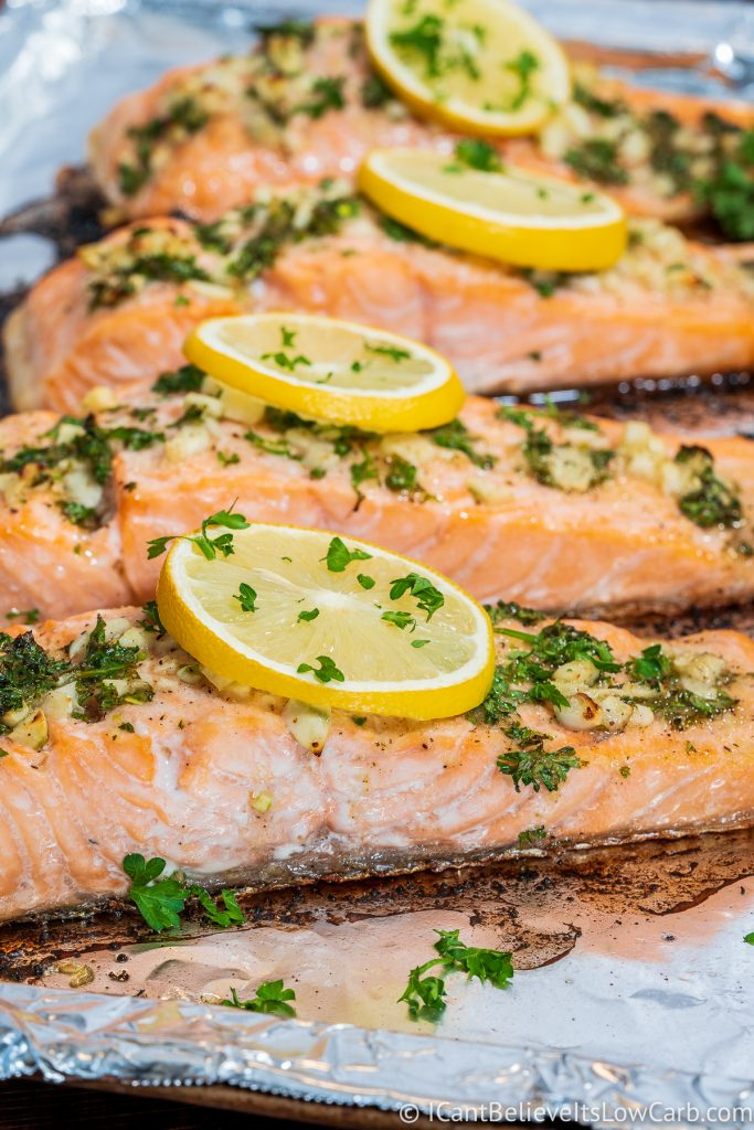 Baked Salmon recipe in the oven