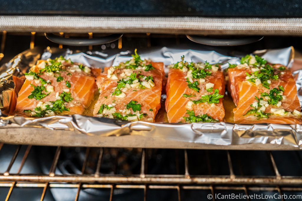Broiling Salmon in the oven