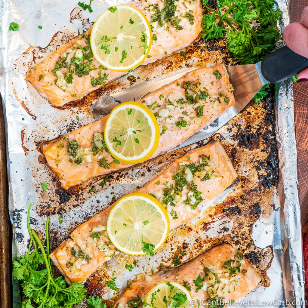 How to Cook Baked Salmon in the oven