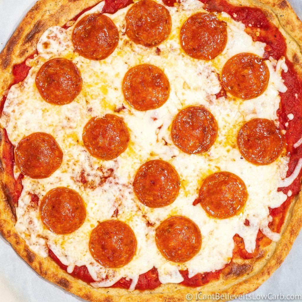 Easy Fathead Pizza Crust