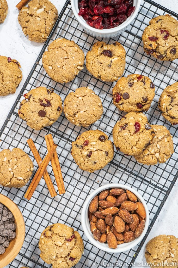 Easy Low Carb Oatmeal Cookies