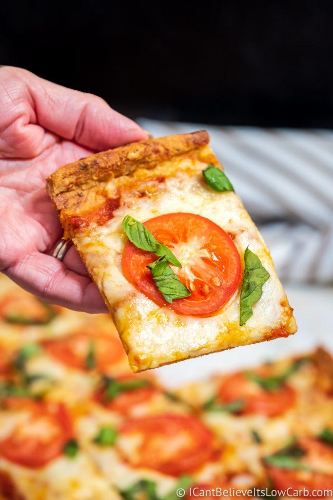 Keto Pizza with almond flour