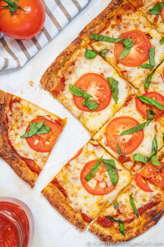 Easy Keto Pizza Crust Recipe