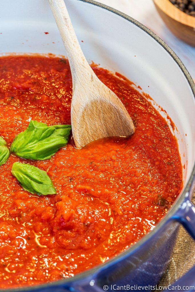 Best Keto Tomato Sauce