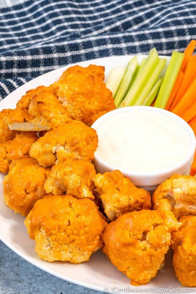Best Keto Buffalo Cauliflower