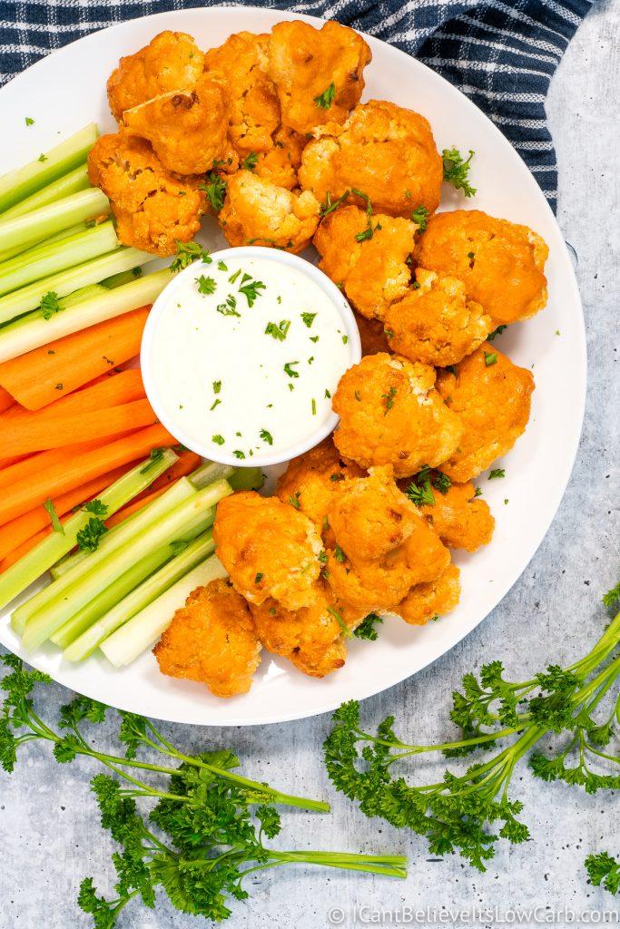 Keto Buffalo Cauliflower Bites Recipe