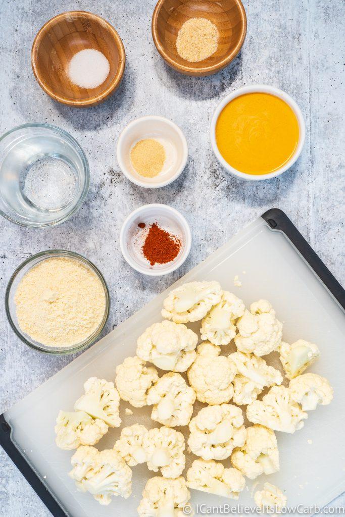 Keto Buffalo Cauliflower ingredients