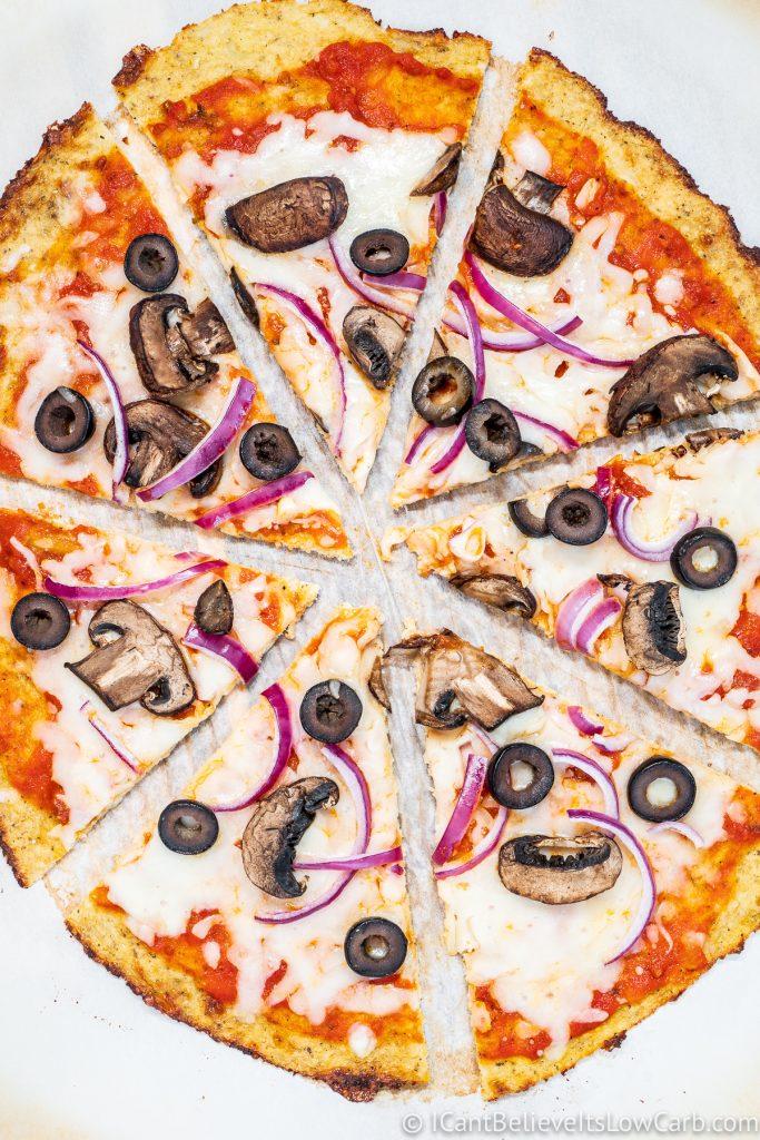 Whole Cauliflower Pizza