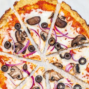 Crispy Cauliflower Pizza Crust