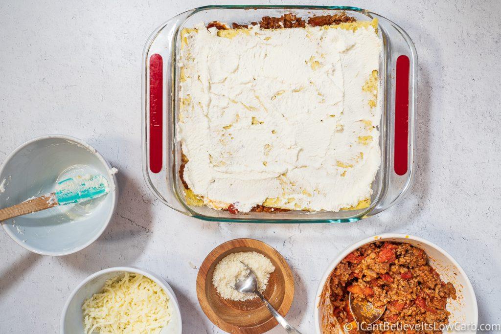 adding more cream cheese