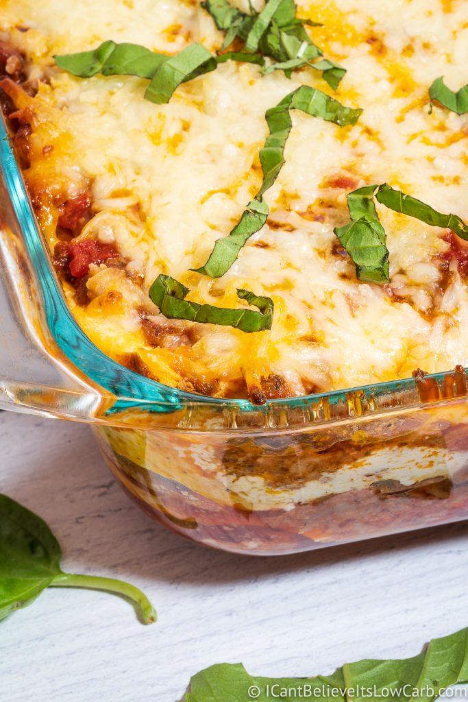 No Noodle Lasagna recipe